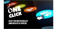 Admin oneclick menu