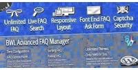 Advanced bwl faq manager