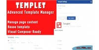 Advanced templet template manager