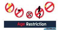 Age premium restriction wordpress for plugin