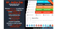 Author wp box