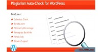 Auto plagiarism wordpress for check