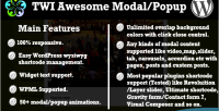 Awesome twi modal popup
