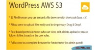 Aws wordpress s3 browser
