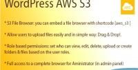 Aws wordpress s3 browser