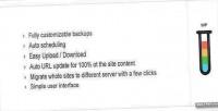 Backup ether wordpress plugin