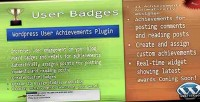 Badges user wp plugin achievements user
