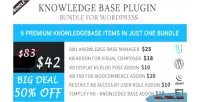 Base knowledge plugin wordpress for bundle