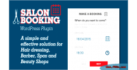 Booking salon wordpress plugin