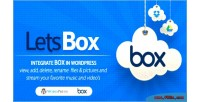 Box lets box wordpress for plugin