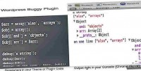 Buggy wordpress plugin