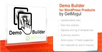 Builder demo for getmogul wordpress by products