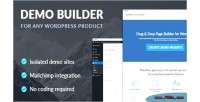 Builder demo for product wordpress any