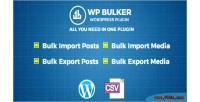 Bulker wp ultimate exporter importer csv