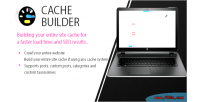 Cache wordpress crawler page builder