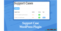 Case support wordpress plugin