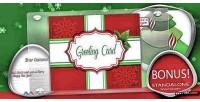 Christmas business greeting plugin wp card