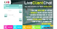 Client chat help chat map visitors with client