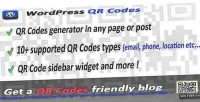 Codes qr for wordpress