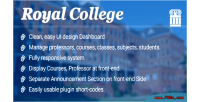 College royal wordpress plugin