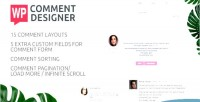 Comment wp designer customize & wordpress design comments form comment and