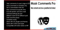 Comments mask pro
