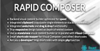 Composer rapid builder content visual
