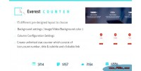 Counter everest beautiful counter stat wordpress for plugin