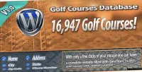 Courses golf wordpress for database