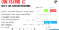 Create contractor send online contracts sign