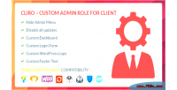 Custom cliro admin client for role