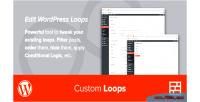 Custom fresh plugin wordpress loops