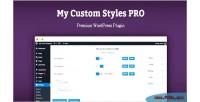 Custom my styles pro