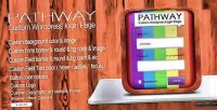 Custom pathway page login wordpress