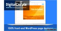 Digital create plugin wordpress builder designer visual