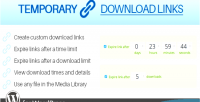 Download temporary wordpress for links