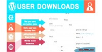 Downloads user
