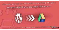 Drive google as plugin cdn wordpress