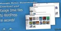 Drive google downloader