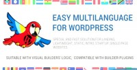 Easy multilanguage builder for sites wp static