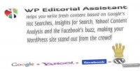Editorial wp assistant