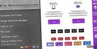 Elements fx shortcodes animated wordpress