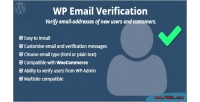 Email wp verification
