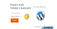 End front theme wordpress for changer