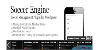 Engine soccer wordpress plugin