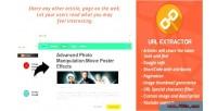 Extractor url for wordpress