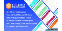 Faq everest manager responsive frequently questions asked faq wordpre for plugin