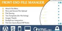 File frontend manager