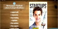 Flipbook newspaper jquery pluginwp