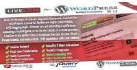 Livecom for wordpress a plugin blogging live